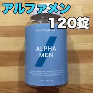 マイプロテイン(MYPROTEIN)のアルファメン 120錠 マイプロテイン (ビタミン)