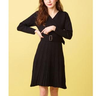 MIIA - 新品 定価8690円 Miia ワンピース BLACK、ピンク 大幅値下げ❣️