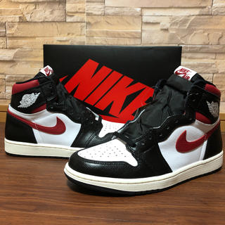 NIKE - AIR JORDAN 1 RETRO HIGH OGジムレッド 27cm  美品