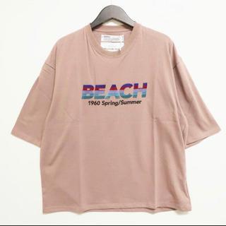 "20SS DAIRIKU ""BEACH"" Half-Sleeve Tee"