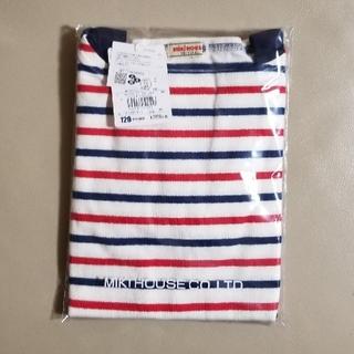 mikihouse - ボートネック重ね着風長袖Tシャツ120 ミキハウス