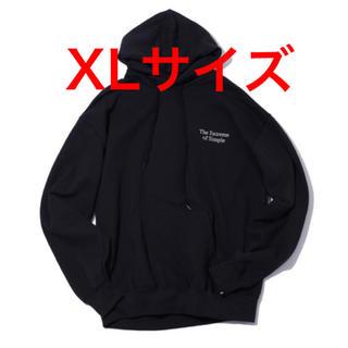 ワンエルディーケーセレクト(1LDK SELECT)のXL Ennoy The Extreme of Simple Hoodie 黒(パーカー)