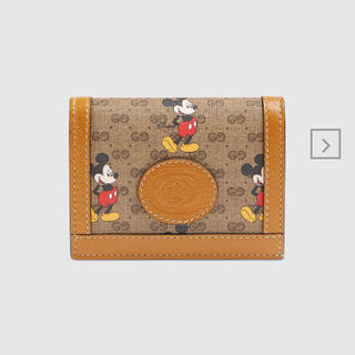 Gucci - Gucci×Disney 二つ折りミニ財布