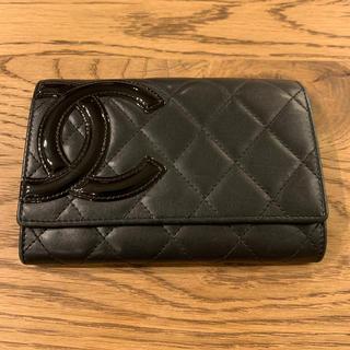CHANEL - CHANEL シャネル カーボン財布