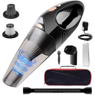 車用掃除機【吸力加强版】 ハンディクリーナー コードレス 軽量 乾湿両用 小型