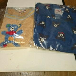 ミキハウス(mikihouse)のたぬぬ様専用!!!MIKI HOUSE 春物ベスト・DOUBLE B甚平セット(Tシャツ/カットソー)