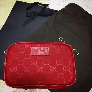 Gucci - 新品 GUCCI ポーチ グッチ ポーチ 化粧ポーチ