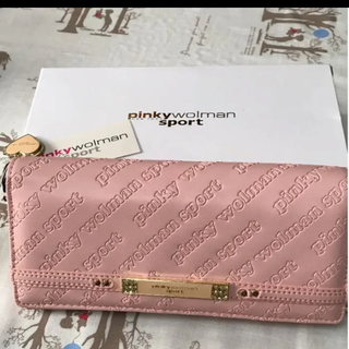 ピンキーウォルマン(pinky wolman)の【新品】ピンキーウォルマン長財布(財布)