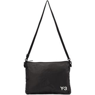 ワイスリー(Y-3)のY-3 ブラック Sacoche バッグ(メッセンジャーバッグ)