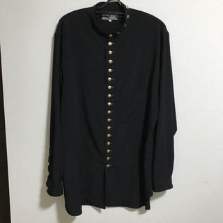 Yohji Yamamoto - yohji yamamoto19aw 金ボタン シャツ