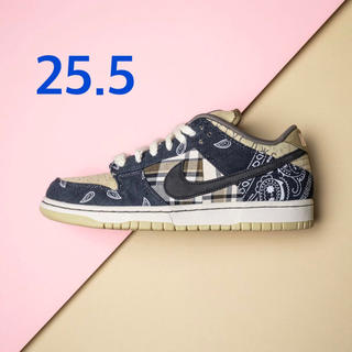 NIKE - NIKE sb dunk low travis scott 25.5