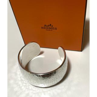 Hermes - Hermès  Sterling  Silver  Wide  Cuff