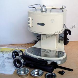 デロンギ(DeLonghi)のデロンギ エスプレッソ・カプチーノメーカー ECM300J-E(エスプレッソマシン)