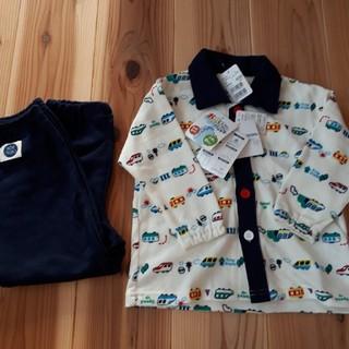 AEON - 新品未使用 長袖パジャマ 100 おけいこ ボタン