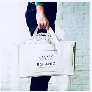 gelato pique - &ROSY(アンドロージー)4月号◆ジェラートピケ◆巾着型ストックバッグ