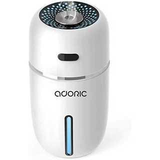 ホワイト加湿器ミニ 卓上 アロマ 2019最新 加湿器 超静音 車用加湿器 除菌