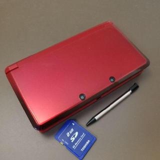 ニンテンドー3DS - 3DS フレアレッド