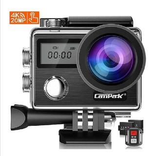 【新型】Campark X20 アクションカメラ 4K高画質 2000万画素