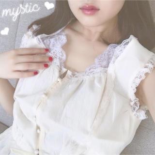 mystic - ヴィンテージレースキャミ♡フーズフーチコ、カスタネ、ナイスクラップ、ヘザー