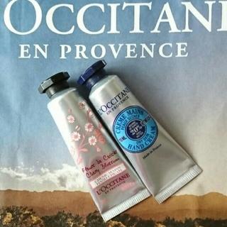 L'OCCITANE - ロクシタン L'OCCITANE ハンドクリーム 2本 シア チェリーブロッサム