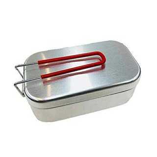 マルチ17×9.5×6.2cm(トランギア) trangia メスティン レッド(調理器具)