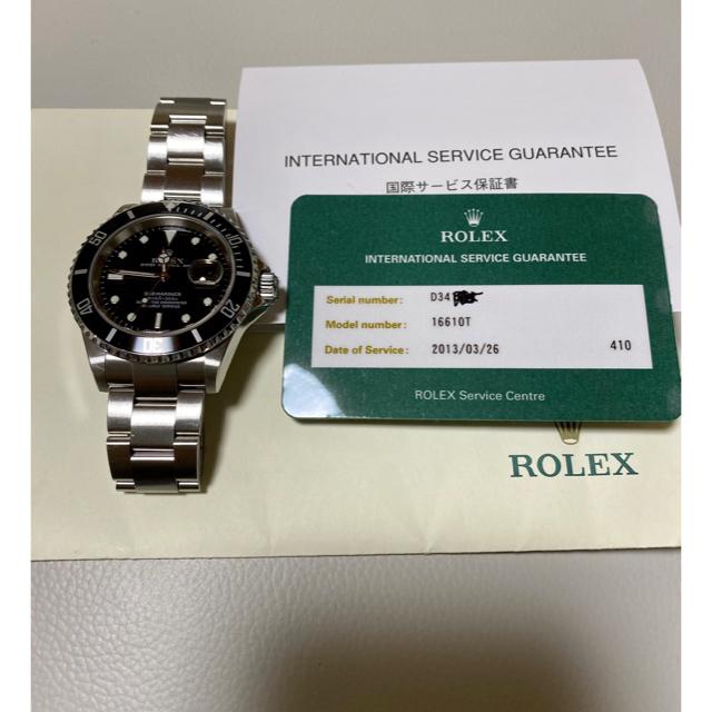 ROLEX - ★2005年式★Rolex サブマリーナ 16610 の通販