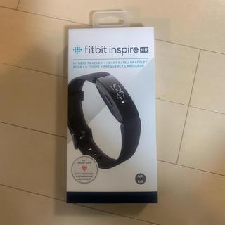 新品未開封 Fitbit INSPIRE HR BLACK