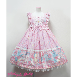 Angelic Pretty - Angelic pretty MELODY TOYS ジャンパースカート ピンク