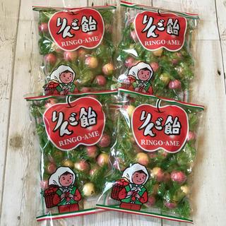 ♡北海道限定♡りんご飴♡4袋セット♡飴谷製菓♡懐かし飴♡あめ♡アメ♡