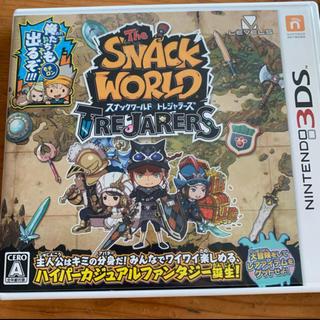 ニンテンドー3DS - スナックワールド トレジャラーズ 3DS