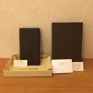 LOUIS VUITTON - 箱付きフルセット‼️  ☆ルイ ヴィトン タイガ・札入れ☆