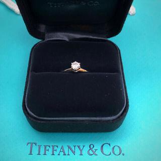 Tiffany & Co. - 美品 Tiffany 婚約指輪 ダイヤ 0.5ct
