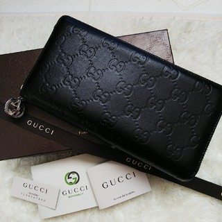 Gucci - 【期間限定価格】GUCCIグッチラウンドファスナー長財布