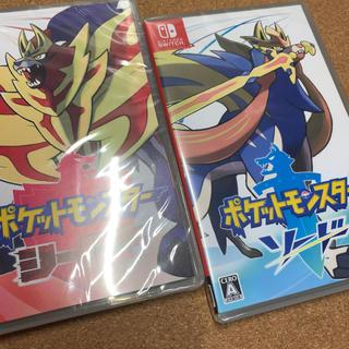 Nintendo Switch - 【新品】Nintendo Switch ポケットモンスター ソードシールドセット