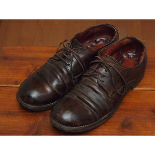 グイディ(GUIDI)のGUIDI 短靴 992 ブラウン 42 1/2 tomo様専用(ドレス/ビジネス)