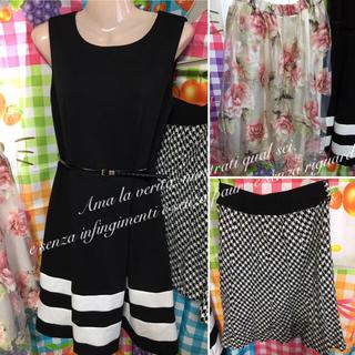 カルバンクライン(Calvin Klein)のカルバンクライン フェミニン ワンピース MERCURYDUO 花柄 スカート等(ひざ丈スカート)