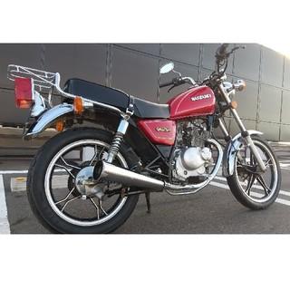 スズキ - 宮城県仙台市 自賠責保険付 スズキ GN125H レッド 実働 原付 バイク