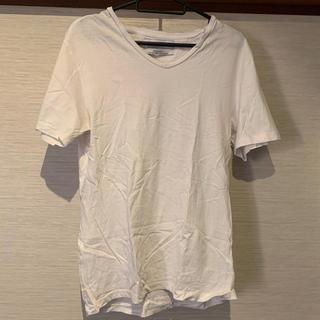 ZARA - 【大特価】ZARA ザラ メンズ Tシャツ 白T