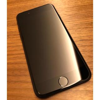 Apple - (中古) iPhone7 128GB ジェットブラック