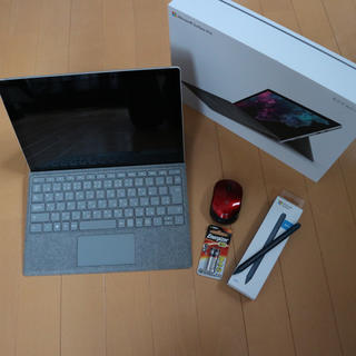 Microsoft - surface Pro6 タイプカバー、surfaceペン同梱