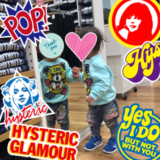 HYSTERIC MINI - JOEY HYSTERIC ヤンキー タンク xs