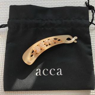 acca - 【美品】acca アッカ キラキラ バナナクリップ