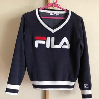 FILA - FILA セーター Mサイズ レディース トートバッグ付き