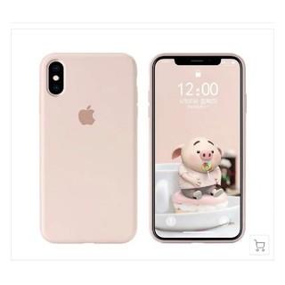 新品 アップルマーク シリコンケース iPhonex/xs対応