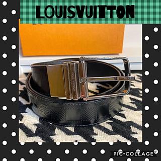LOUIS VUITTON - 正規品꙳★綺麗ルイヴィトンダミエ✧︎アンフィニメンズベルト95✧︎M9674✧︎