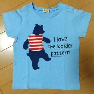 ムージョンジョン(mou jon jon)の中古 半袖Tシャツ 95cm(Tシャツ/カットソー)