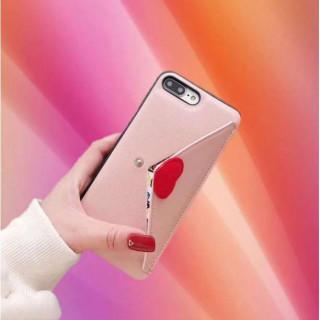 iPhoneケース7/8 可愛いラブレター型 ピンク