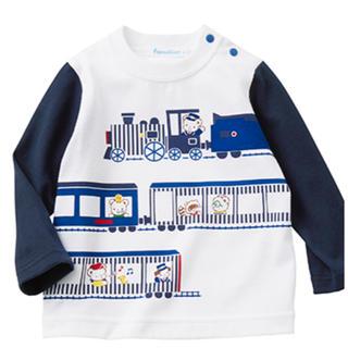 familiar - 即日発送可能ファミリアロングTシャツ90サイズ