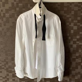 sacai - sacai 20ss シャツ ホワイト Lサイズ サイズ2