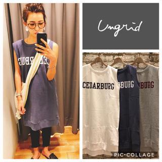Ungrid - Ungrid**CEDARBURGスウェットワンピース